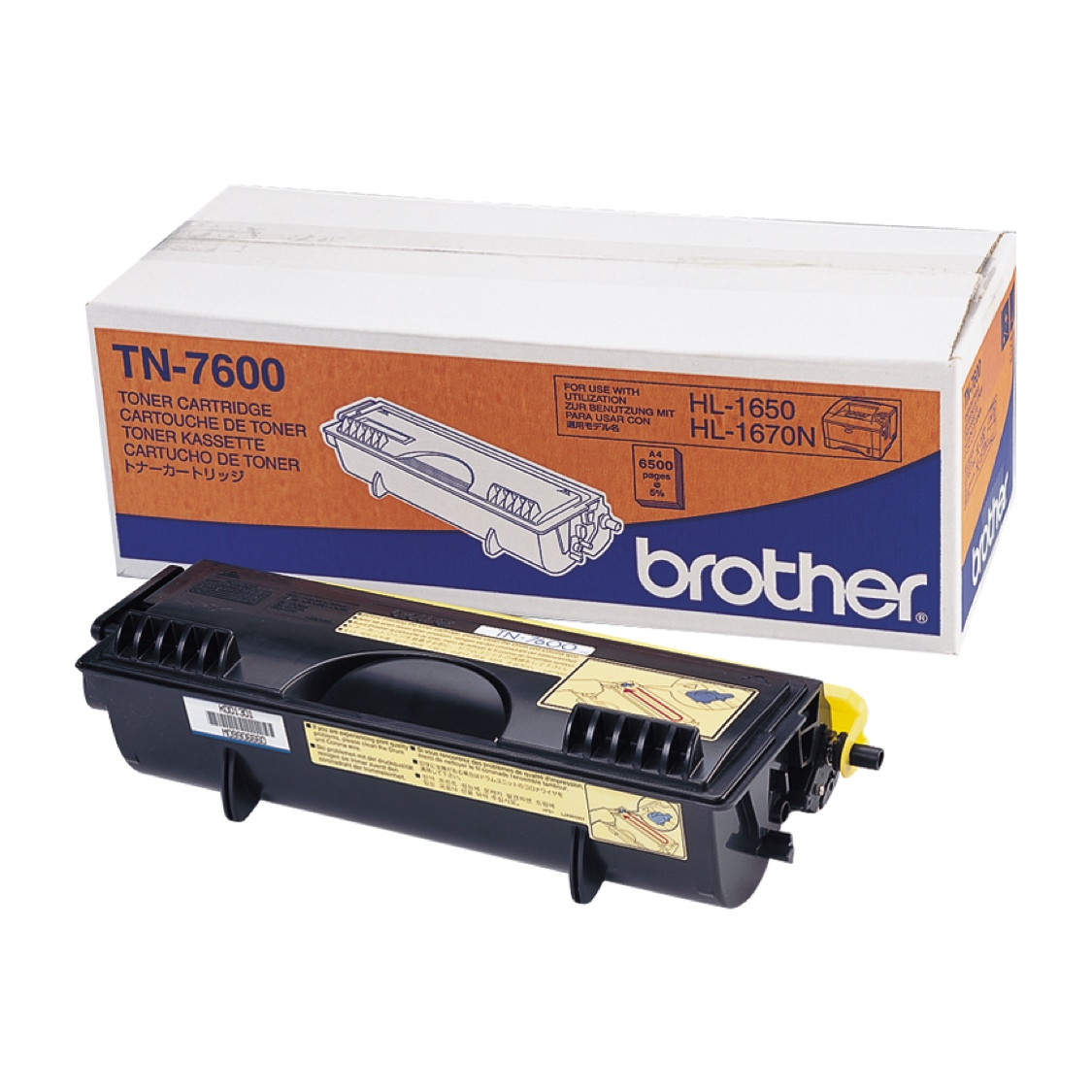 Картридж Brother TN7600 (black), 6500 стр.