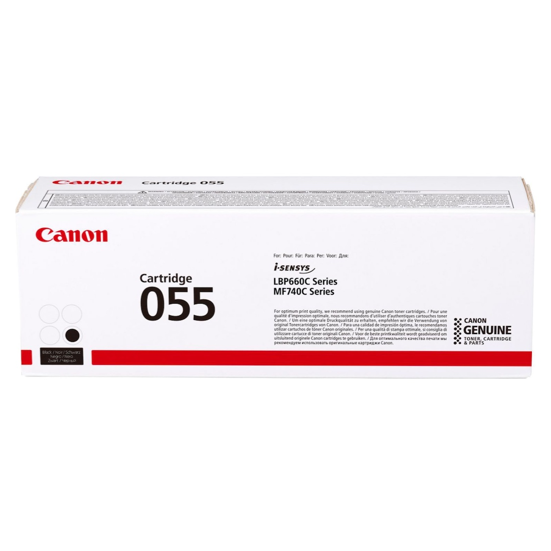 Тонер-картридж Canon Cartridge 055 BK (black)