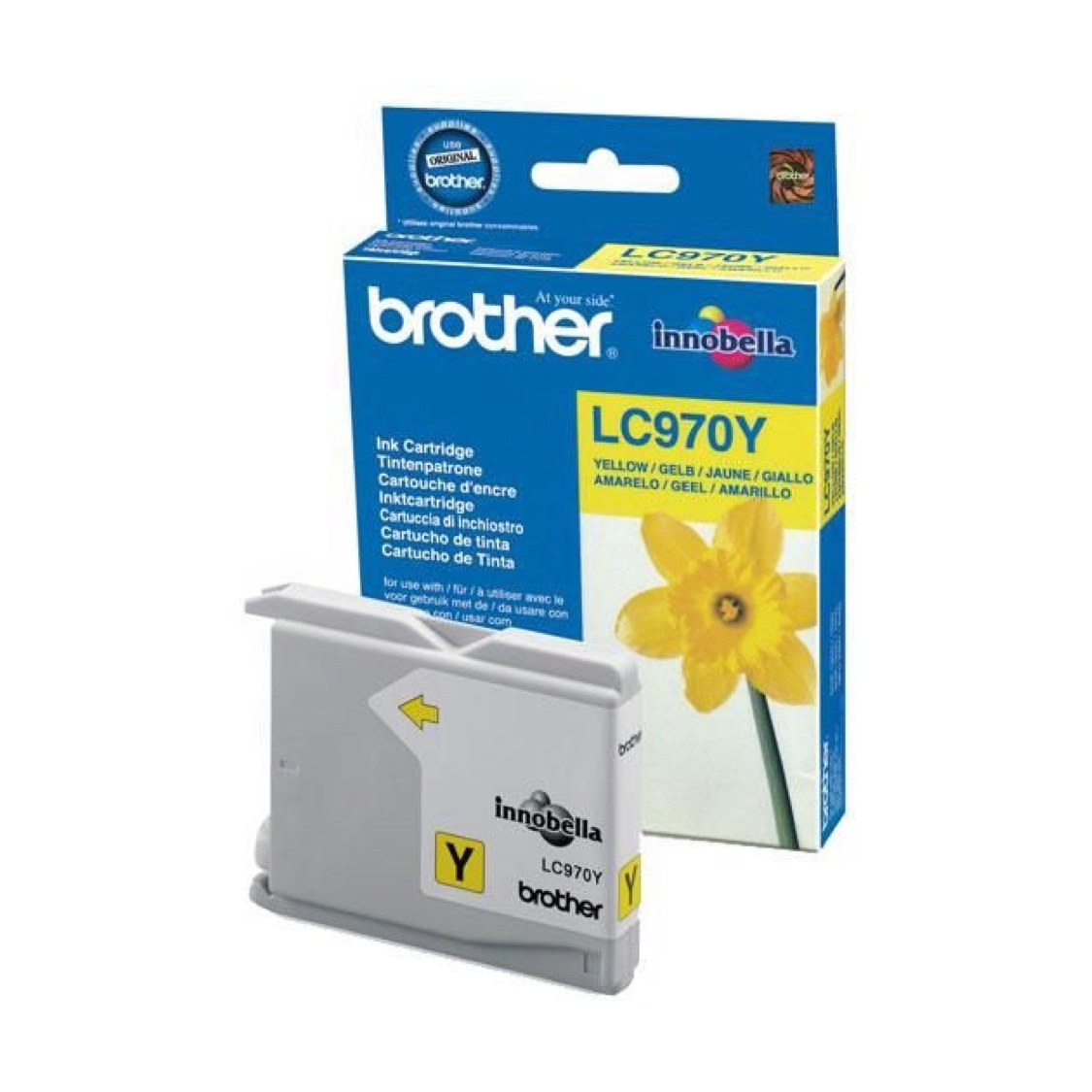 Картридж Brother LC-970Y (yellow), 300 стр.